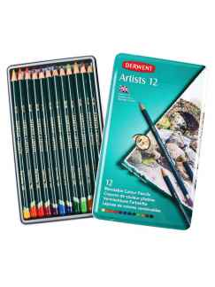 Matite colorate Artists DERWENT 12pz