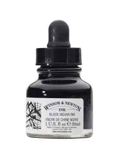 China Indian Black, Winsor & Newton